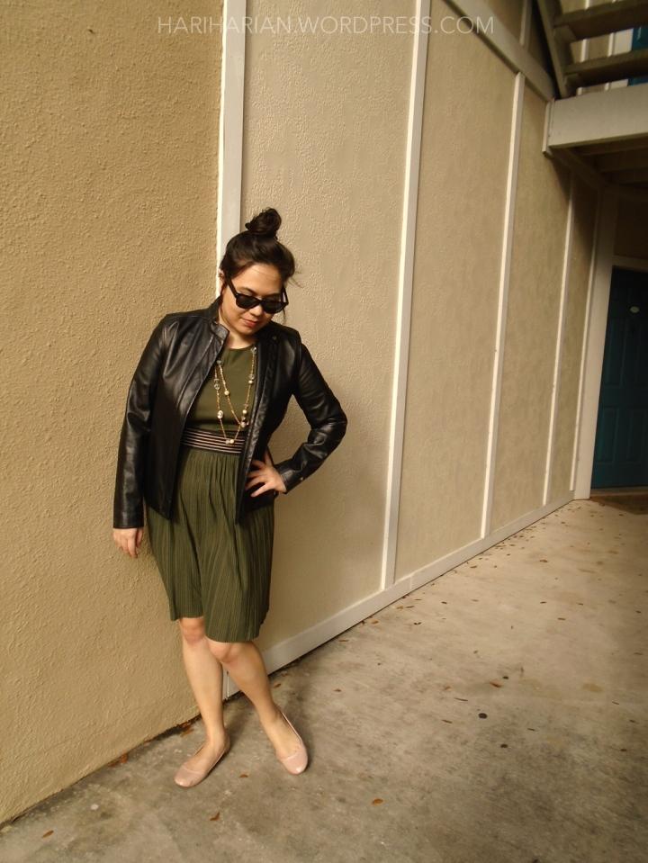 Olive Target Dress