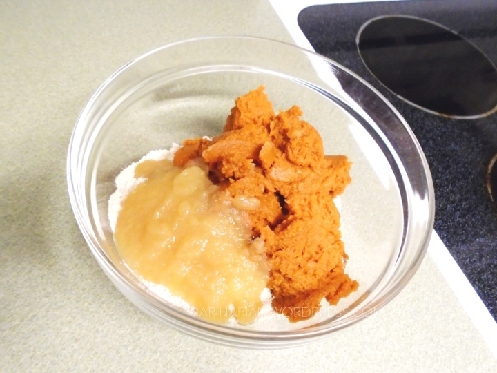 vegan dessert cooking recipe spice applesauce cupcake