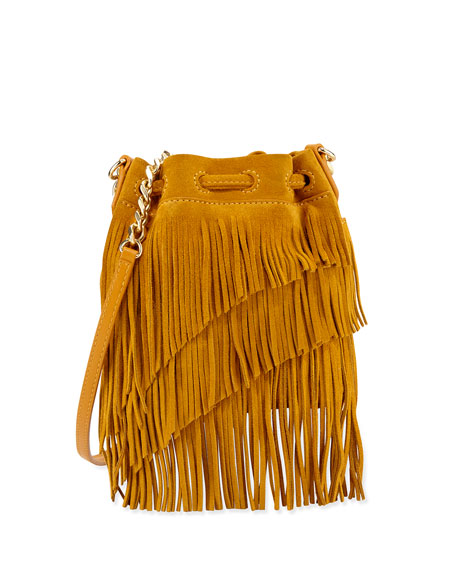 Brown Fringe Bucket