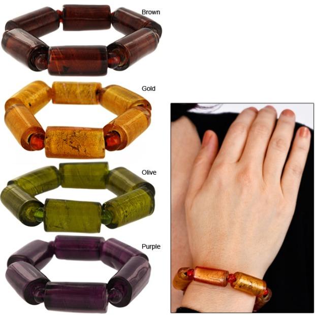 foil in love bracelet