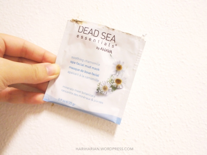 Dead Sea mask