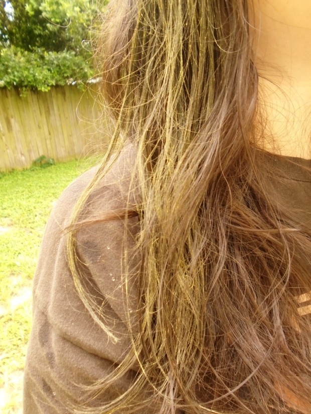 Blond Hair Chalk
