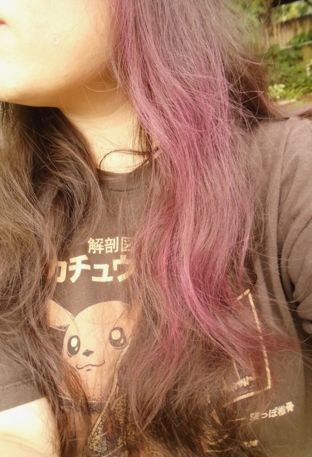 Combed Pink Hair