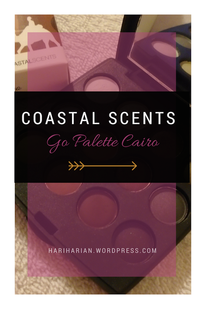 Coastal Scents Palette Pin
