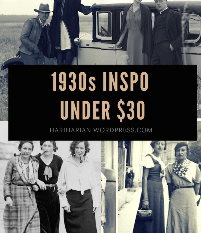 1930s Under $30