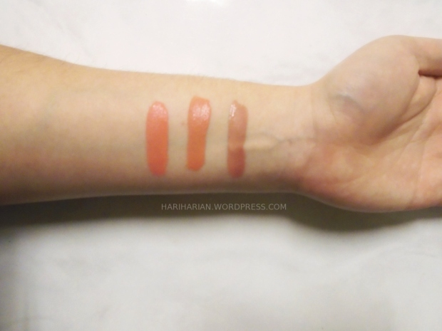 Niceface swatches