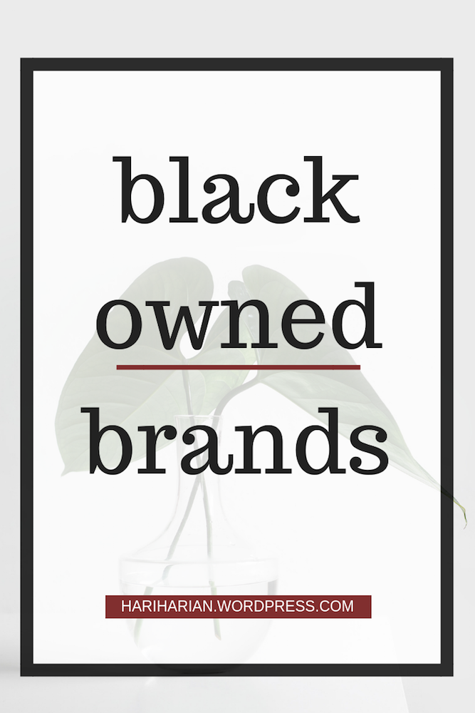 black owned brands pin